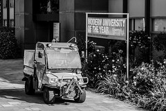 GET EDUCATED BUT DONT DONT LET THE WEEDS GROW ROUND YOUR FEET (IAN GARDNER PHOTOGRAPHY) Tags: education university scholars councilvan coventry modern opportunity
