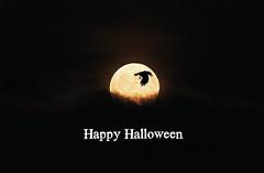 Happy Halloween 2016 (Kay Martinez) Tags: halloween fullmoon moon cloud