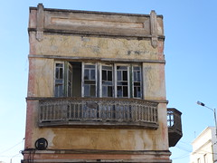 Going to ruin (cyclingshepherd) Tags: 2016 november portugal algarve olhao olhão building house apartment balcony window windows door doors ruin cyclingshepherd balustrade architecture
