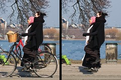 Cyclist Posture (Mikael Colville-Andersen) Tags: anthropology bike bicycle copenhagen upright situpandbeg damecykel grandma omafiets opafiets