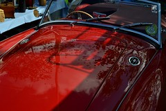 2016-10-02: After The Shower (psyxjaw) Tags: london londonist vintage festival classic car boot sale classiccar kingscross shopping lewiscubitsquare vehicle drive