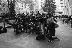 Enough Dabbing to napalm rockefeller (Brotha Kristufar) Tags: youth education trio school trip field nyc manhattah times square madison rockefeller monochrome fdny learning learn lesson lessons outdoors fire safety tree christmas center tour daytime outside 50mm wideangle canon blackandwhite portrait group shots explore explored feature academy radio city musc hall monochromatic