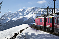 Bernina_2_b (mperezq) Tags: bernina berninaexpress express train railway mountain alpine alps snow nature switzerland italy italia swiss landscape canon canon6d