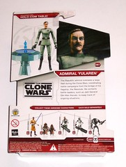 admiral yularen star wars the clone wars cw07 red and white packaging basic action figures 2008 hasbro mosc b (tjparkside) Tags: admiral yularen star wars clone cw07 cw 07 seven tcw sw hasbro basic action figure figures 2009 red white packaging card dc17 dc 17 blaster removable holster obi wan obiwan kenobi hologram holocom holo com table stand republic fleet resolute general 06 08 09 10 11 jedi mace windu jawa jawas commander gree arf trooper super battle droid lightsaber cannon