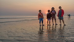 Sunset Time (Nitya..) Tags: 2015 december digha in india nikon tajpur westbengal attraction bayofbengal beach holidays mandarmani npurbamedinipur newyear tourism tourist travelphotography weekenddestination yearend