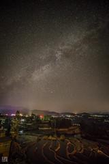 Starry Night at the Rice Terrace (lycheng99) Tags: stars starry night nightphotography nightvision quiet quietnight longexposure yuanyang rice terrace riceterrace sky star yunnan china chinatravel