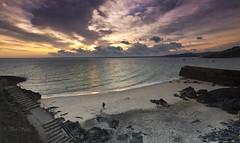 Playing on the beach (Through Bri`s Lens) Tags: cornwall st ives bamaluzbeach brianspicer canon1635f4