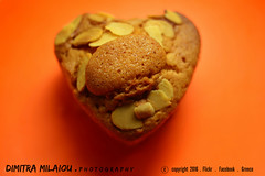 feeding love... (dimitra_milaiou) Tags: love heart cake mafin cupcakes color life food colour live lovely small macro close up closeup orange light shadow milaiou greece greek athens dimitra celebrate happy happiness birthday name day almonds feed eat sweet sugar taste tasty moment bake shape pure curves kitchen cook 35mm f18 d d7100 7100 beautiful wow one 1 lonely photo photography europe world planet earth home homemade cookie