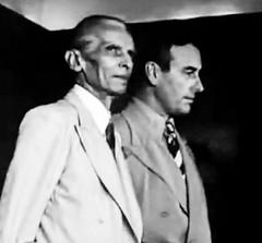 Jinnah with Mountbatten - the eternally odd couple (Doc Kazi) Tags: india pakistan history partition independence mountbatten nehru jinnah liaquat baldev kripalani radcliffe din mohammad munir judges burma
