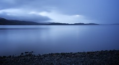At the Whim of the Weather (chris.ph) Tags: lochlomond luss scotland longexposure dawn morning water blue canon6d ef24105mmf4lisusm