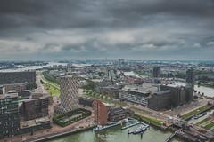 Rotterdam (Moshe Ashkenazi Photography) Tags: nikon d750 dslr tamron 2470 mm f 28 di vc usd sp rotterdam holland sky dark clouds river