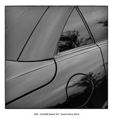 SLK280 Detail #5 (Godfrey DiGiorgi) Tags: colorskopar50mmf25 abstract automobile bw car detail shape slk280 stilllife santaclara california usa us
