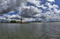 I <3 Clouds (Brandon Godfrey) Tags: newyorkcity newyork newyorkharbour nyc manhattan brooklyn libertyisland ladyliberty statueofliberty downtown oneworldtrade lowermanhattan nikond700 hudsonriver eastriver sky outdoor day thebigapple nationalmonument