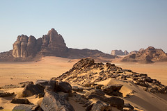 Wadi Rum Scene, Jordan (billkuhn) Tags: wadirum jordan themartian desert mars