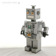 Immortal Clockwork Robot (dvdliu) Tags: immortal clockwork robot mechanism lego moc