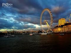 London Eye (andreadanielepicardi) Tags: london londoneye landschaft landscape england uk sehenswürdigkeiten unitedkindom vereinigteskönigreich sonnenuntergang tramonto inghilterra picardiphotographie
