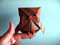 Owl - Hiroaki Kobayashi (Rui.Roda) Tags: origami papiroflexia papierfalten mocho coruja buho eule hibou owl hiroaki kobayashi