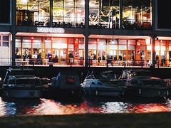 IMG_3668 (Dan Thomas Johnson) Tags: night harbour bristol light reflection rich colour red