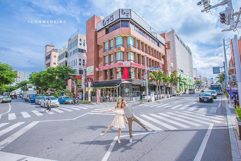 埔添外人住宅區,波上宮,首里城,國際通