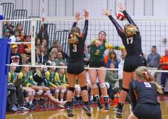 IMG_6898 (SJH Foto) Tags: girls volleyball high school allentown central catholic somerset team teen teenager net battle spike block action shot jump midair burst mode