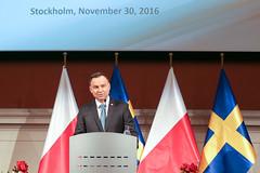 Wizyta Pary Prezydenckiej w Królestwie Szwecji (Kancelaria Prezydenta) Tags: prezydent pierwszadama andrzejduda agatakornhauserduda szwecja król królowa innowacje startup skandynawia