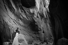 IMG_0475 (gregorymestas) Tags: zion national park desert nature wilderness the narrows black white canyon
