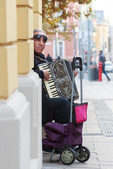 Meanwhile in Hungary (mseolah) Tags: old men gipsy socio town outside musician accordion hungary pcs waits
