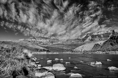 From Tanner bw (alreformed) Tags: blackandwhite clouds nationalpark hiking grandcanyon backpacking coloradoriver polarizedfilter nikond7000 tannerbeach topazblackandwhiteeffects