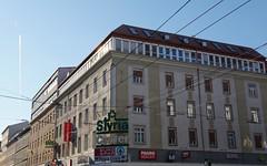 Graz (austrianpsycho) Tags: houses buildings mall austria shoppingcentre shoppingmall shoppingcenter graz steiermark styria einkaufszentrum eurospar osterreich hauser gebaude geschafte annenstrase styriacenter