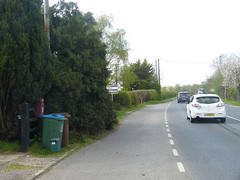 HP18 187 - Ham Farm, Bicester Road 140411 location (maljoe) Tags: postbox royalmail eviir hp18
