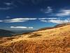 On the slopes of Mt Tongariro 2005 (kiwinz) Tags: 2005 newzealand sky clouds tongarironationalpark northisland volcanic tussock mttongariro centralplateau tongariroalpinecrossing