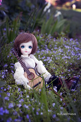 Mystic Kids Cris (Jane Kolyadintseva) Tags: flowers kids guitar bjd lovely cris mystic