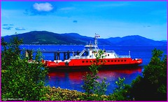Scotland Gourock car ferry Sound of Soay and the mountains of Argyll 18 June 2014 by Anne MacKay (Anne MacKay images of interest & wonder) Tags: mountains west car june by ferry river landscape anne scotland clyde photo highlands sound mackay 18 gourock soay 2014