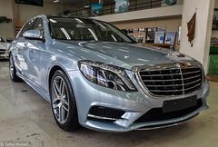 S Class W222. (TAF27) Tags: blue silver mercedes benz s class luxury ksa luxurious w222