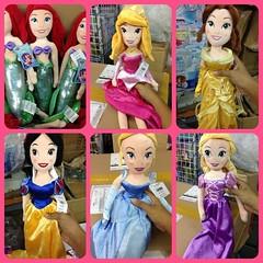 "Disney Store USA 20"" Princess Plush Doll - Aurora ชมพู - Bell เหลือง - Mermaid เงือก - Snow White สโนไวท์ - Cinderella ฟ้า - Rapunzel ราพันเซล ม่วง  สินค้านำเข้าจากอเมริกา  ตุ๊กตาเจ้าหญิง นุ่มน่ากอด ยัดโพลีเอสเตอร์ กันไรฝุ่น สินค้าจาก ดีสนี่สโตร์ อเมริกา"
