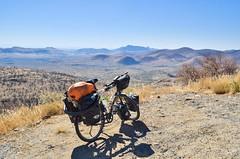 The steep Boshua pass, C28 (jbdodane) Tags: c28 africa bicycle boshuapass bosuapass cycletouring cycling cyclotourisme day586 gravel mountains namibia road velo freewheelycom jbcyclingafrica