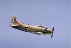 AD-4NA Skyraider Duxford 2005 (clackzuk) Tags: douglas skyraider ad4na duxford 2005 26922402 ak