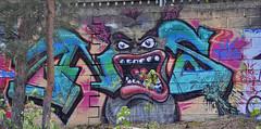 pispala 19-9 (Logical Progression) Tags: street old city urban streetart color art abandoned wall suomi finland painting graffiti town artwork paint artist factory fame spray countries graffitti match nordic graff aerosol tampere taide katutaide katu pispala urbanarte kaupunkitaide tikkutehdas finstreetart
