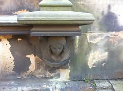 Angel head! (AtelierWilfriedSenoner) Tags: statue angel angelstatue cemeteryart graveart angelhead edinburghart edinburghangel