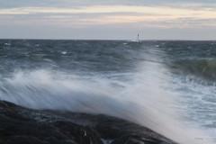 Did I get wet? soaked! (Tone aka Hobbygaasa) Tags: sea norway seaside windy mlen canoneos7d canonef2470mm28lusmii
