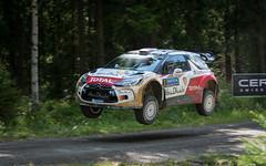 Kris Meeke / Paul Nagle (Samu Ekman) Tags: wrc rallyfinland rally 2014 c citroen ds3 meeke motorsport rallying finland d800 sport racing