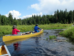 Algonquin Canoe Trip (Canadian Veggie) Tags: ontario canoe algonquin canoeing portage beaverdam canoetrip portaging algonquinprovincialpark