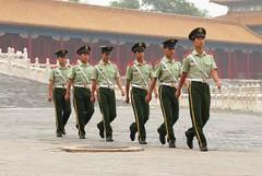 P1000878 (ujoris) Tags: china leica lumix beijing panasonic forbiddencity changeofguards militarymarch tz3