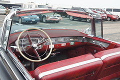 1956 Cadillac Series 62 Convertible (DVS1mn) Tags: new london car brighton antique run era brass brassera newlondontonewbrighton nlnb nlnbacr 28thannualnewlondontonewbrightonantiquecarrun
