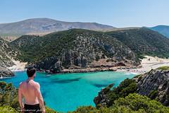 Cala Domestica, Sardegna (mirko.santamaria) Tags: world sardegna sky italy panorama white love beach beauty relax nikon paradise italia sardinia peace view dream away paradiso caladomestica d5300 mirkosantamaria