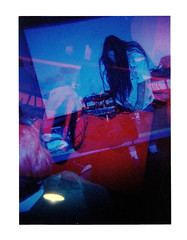 Overdose the Katatonic @ 20th Olympia Experimental Music Festival (Dead  Air) Tags: music holga flash olympia noise exposures experimentalmusic coloredflash overdosethekatatonic 20tholympiaexperimenatlmusicfestival