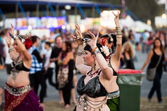 Belly Dancers 6427 (Ursula in Aus) Tags: music bellydancer australia dancer nsw performer byronbay bluesfest2014