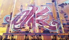 ELK (BLACK VOMIT) Tags: car train graffiti ol box south el dirty dos boxcar elk freight kamino elkamino dirtyolsouth