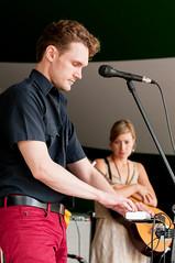 Hello Moth and Jill Barber @ Prince's Island Park. 2014 Calgary Folk Music Festival. (Calgary Folk Festival) Tags: canada calgary festival photo saturday alberta calgaryfolkmusicfestival musicfestival cfmf princesislandpark 2014 jillbarber sebastianhanlon hellomoth