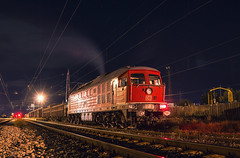 Night predator (BackOnTrack Studios) Tags: electric diesel rail db bulgaria locomotive railways 232 411 ludmilla schenker ludi 5d49